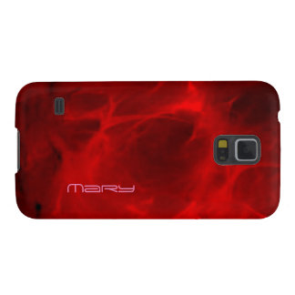 Mary Red Veining Samsung Galaxy S5 case