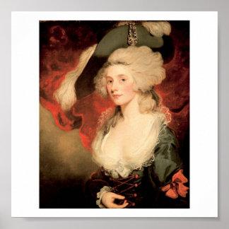 Mary Robinson como Perdita de Juan Hoppner 1758 18 Impresiones