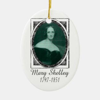 Mary Shelley Ceramic Ornament