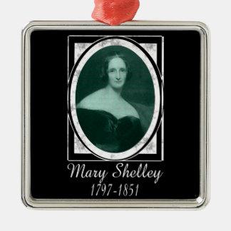 Mary Shelley Metal Ornament