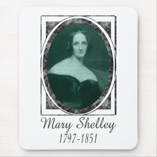 Mary Shelley Mouse Pad