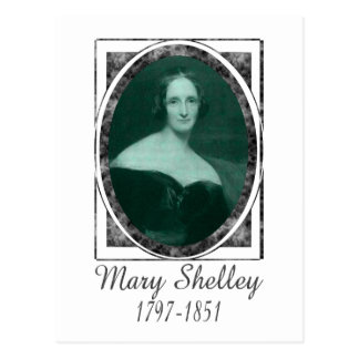 Mary Shelley Post Card