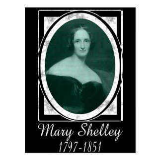 Mary Shelley Postcard