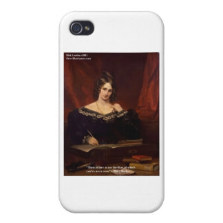 "Mary Shelly ""Love Never Seen"" Gifts & Cards iPhone 4 Cover"