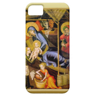 Mary showing the baby Jesus to visitors iPhone SE/5/5s Case