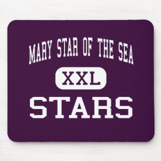 Mary Star Of The Sea - Stars - High - San Pedro Mouse Pads