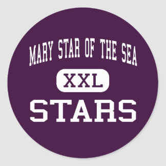 Mary Star Of The Sea - Stars - High - San Pedro Sticker