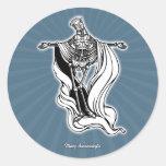 Mary Steam Virgin Classic Round Sticker