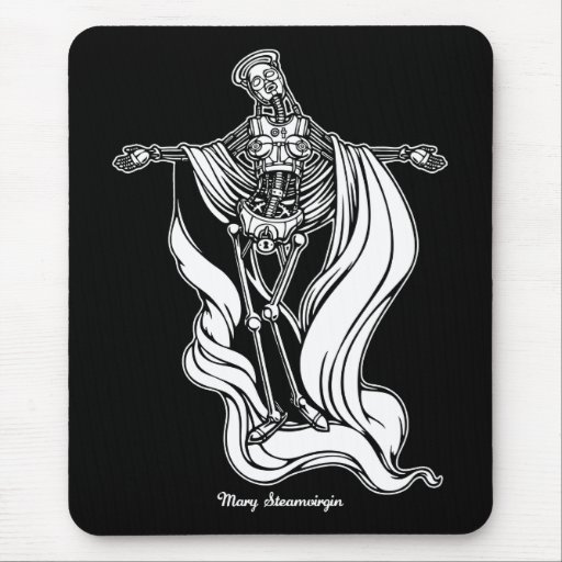 Mary Steam Virgin Mouse Pads
