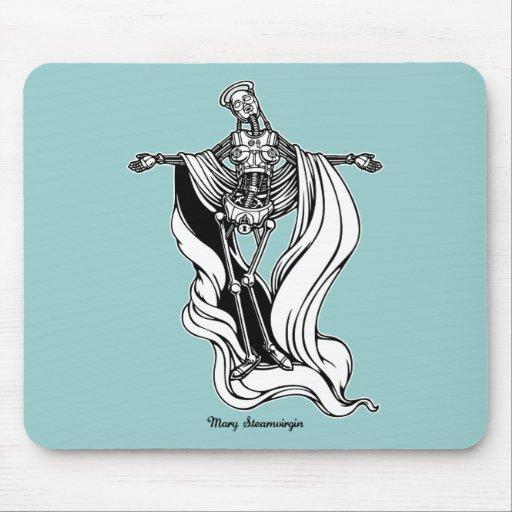 Mary Steam Virgin Mousepads