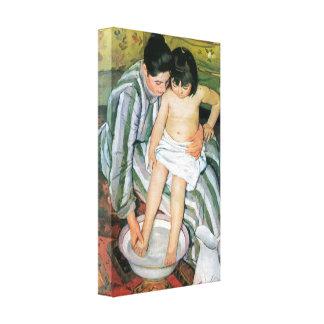 Mary Stevenson Cassatt - The bath Canvas Print