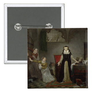 Mary Stuart  at Moment of Leaving for 2 Inch Square Button