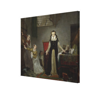 Mary Stuart  at Moment of Leaving for Canvas Print