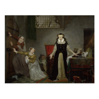Mary Stuart  at Moment of Leaving for Postcard