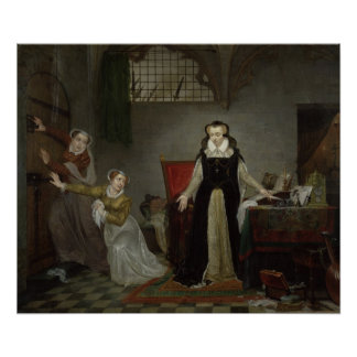Mary Stuart  at Moment of Leaving for Posters