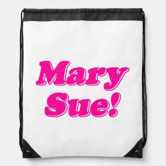 Mary Sue! Drawstring Bag