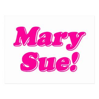 Mary Sue! Postcard