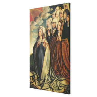 Mary the Mediator with Joanna the Mad Canvas Print