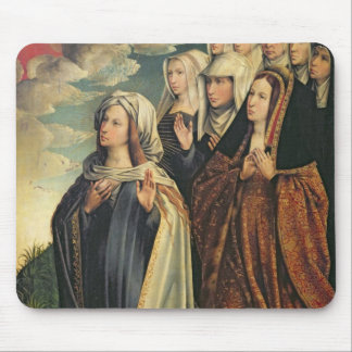 Mary the Mediator with Joanna the Mad Mouse Pad
