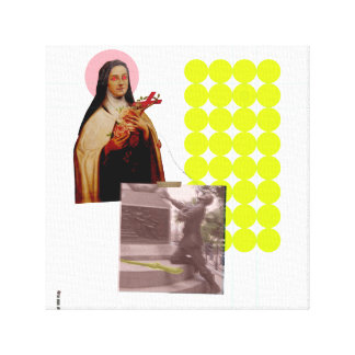 Mary & the Soldier Canvas Print