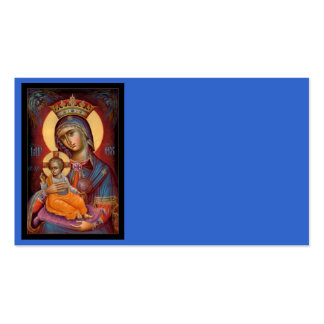 Mary - Theotokos Double-Sided Standard Business Cards (Pack Of 100)