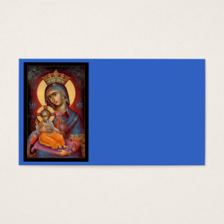 Mary - Theotokos Business Card