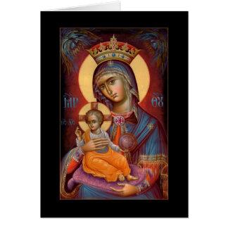 Mary - THEOTOKOS Card