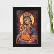 Mary - THEOTOKOS Holiday Card