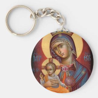 Mary - THEOTOKOS Key Chains