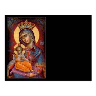 Mary - THEOTOKOS Post Card