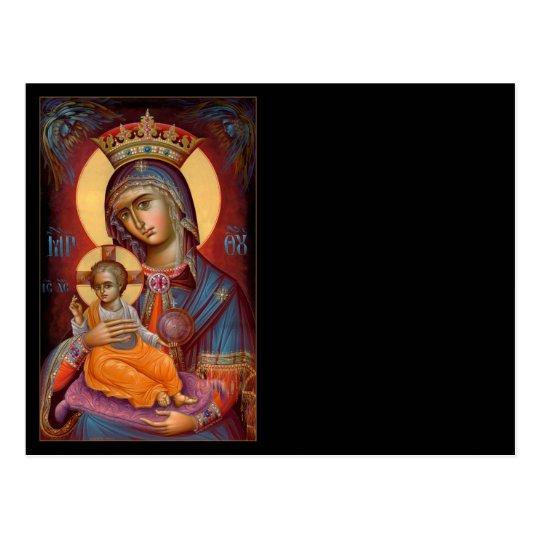 Mary - THEOTOKOS Postcard