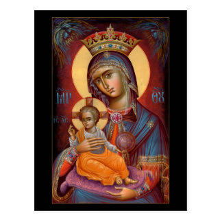 Mary - THEOTOKOS Postcards
