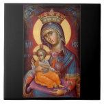 Mary - THEOTOKOS Tile