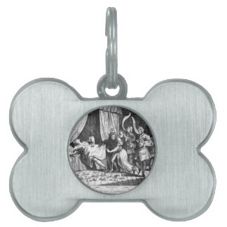 Mary Toft, apparently giving birth to rabbits Pet ID Tag