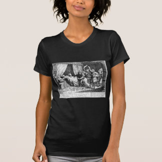 Mary Toft, apparently giving birth to rabbits T-Shirt