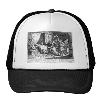 Mary Toft, apparently giving birth to rabbits Trucker Hat