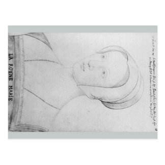 Mary Tudor Queen of France Postcard