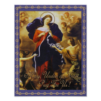 MARY, UNDOER OF KNOTS. POSTER