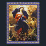 "MARY, UNDOER OF KNOTS PRAY FOR US PHOTO PRINT<br><div class=""desc"">MARY,  UNDOER OF KNOTS PRAY FOR US,  ONE OF POPE FRANCIS&#39; FAVORITE DEVOTIONS.</div>"
