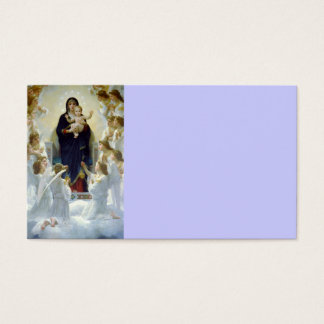 Mary with Angels - Regina Angelorum Business Card