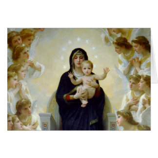 Mary with Angels - Regina Angelorum Greeting Cards