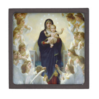 Mary with Angels - Regina Angelorum Keepsake Box