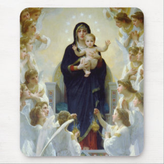 Mary with Angels - Regina Angelorum Mouse Pad