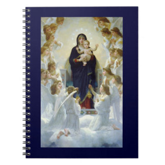 Mary with Angels - Regina Angelorum Notebook
