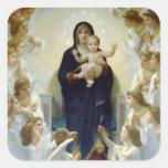 Mary with Angels - Regina Angelorum Sticker