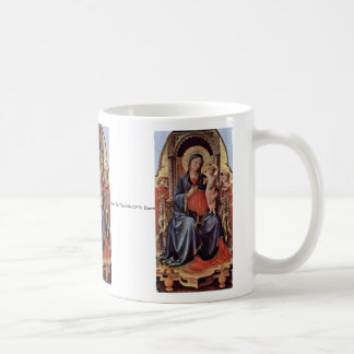 Mary With Child And Angels Mug