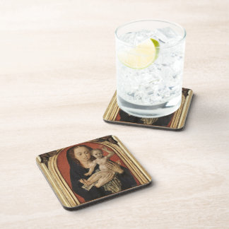 Mary with child by Hugo van der Goes Coasters