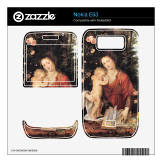 Mary with child by Paul Rubens Nokia E63 Decals