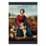Mary With Christ Child And John The Baptist Print