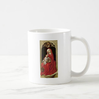Mary With Christ Child (Madonna Duran) By Rogier Coffee Mugs
